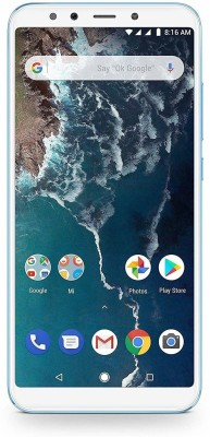 Mi A2 (Blue/Lake Blue, 64 GB)(4 GB RAM) at flipkart