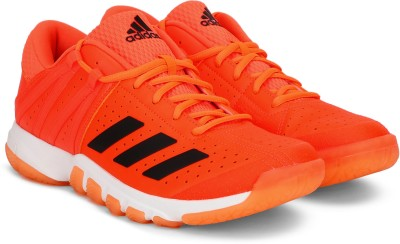 ADIDAS WUCHT P5.1 Badminton Shoes For Men(Orange) at flipkart