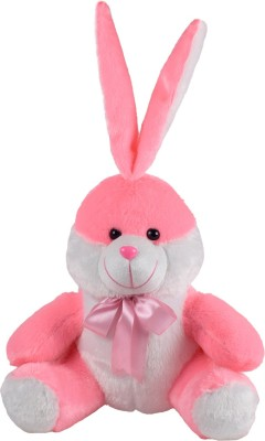 Miss   Chief Sitting Bunny Premium Soft Toy   11 inch Pink