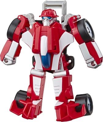 Transformers RESCUE BOTS ACADEMY - HeatWave - The Fire Bot(Multicolor)