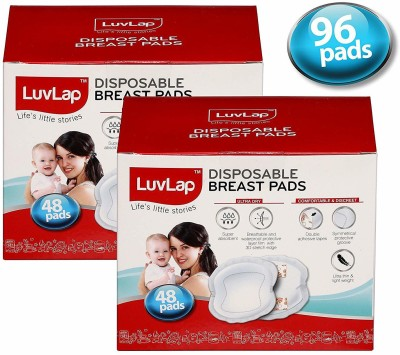 LuvLap Breast Pads - 96's Pack(1 Pieces)