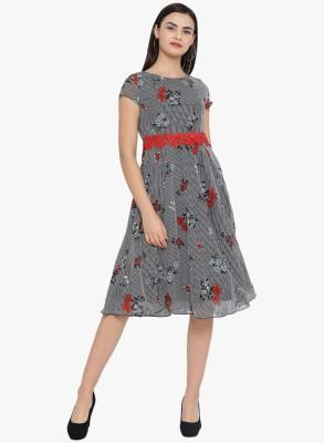 MEE FASHIONS Women A line Multicolor Dress