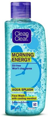 Clean & Clear Morning Energy Aqua Splash  Face Wash(150 ml)