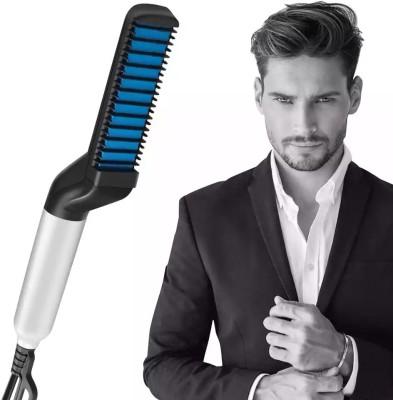 OM BHAGVATI Beard Straightening Comb WT-025 Hair Straightener(Multicolor)