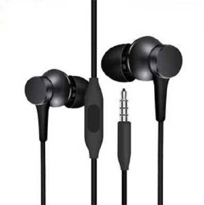 VB TRADE VBTRADE Earphone For All smartphones (Black, In the Ear) Wired Headset(Black, Wired in the ear)