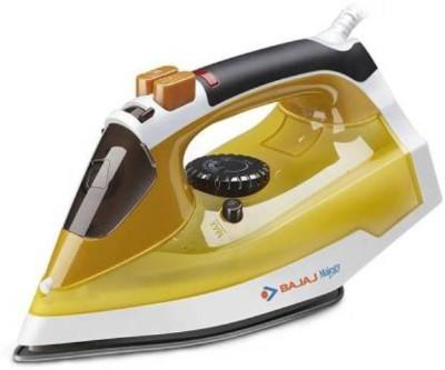 Bajaj Majesty MX 25 1250 W Steam Iron White, Yellow