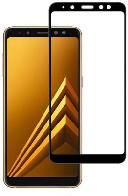 Ultimate Edge To Edge Tempered Glass for Samsung Galaxy A8 Plus(Pack of 1)