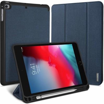 "DHAN GTB Flip Cover for Apple ipad mini5 (2019) 7.9"" inch, Apple ipad mini 5 (2019) 5th Generation(Blue, Grip Case)"