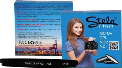 STELA Filter RI PRO1 ND8 58mm having 58mm filter thread only. Center ND Filter 58 mm
