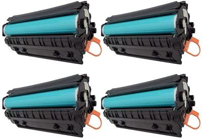 VICPRI 88A / CC388A Toner cartridge 4pic combo pack Black Ink Toner VICPRI Toners