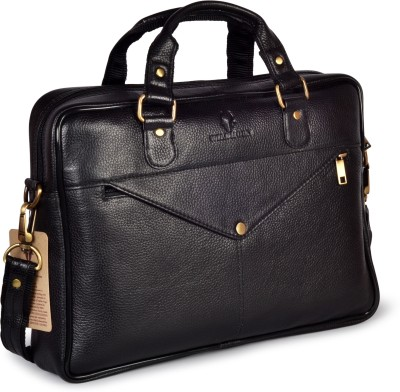 WildHorn 15 inch Laptop Messenger Bag Black WildHorn Laptop Bags