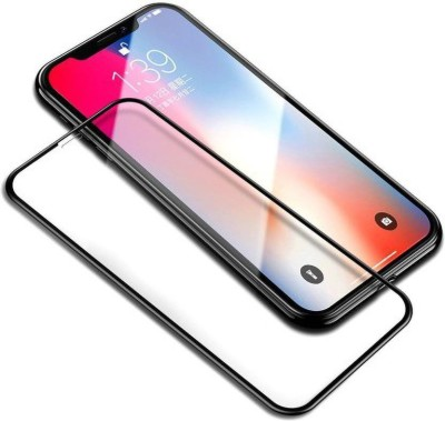 Desirtech Edge To Edge Tempered Glass for Apple iPhone XR(Pack of 1)