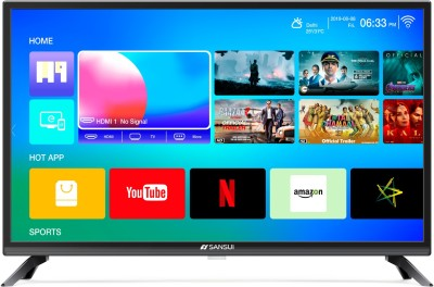 Sansui Pro View 80cm (32 inch) HD Ready LED Smart TV 2019 Edition  with WCG(32VAOHDS/32NVAOHDS)