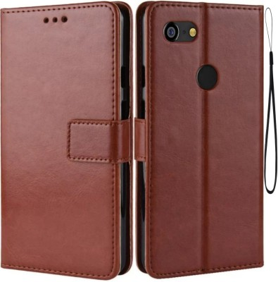 iPaky Flip Cover for Nokia 6.1(Brown, Maroon, Cases with Holder)