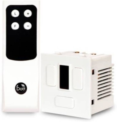DOTT Modular Remote Control Switch For 1 Fan - 5 Amp One...