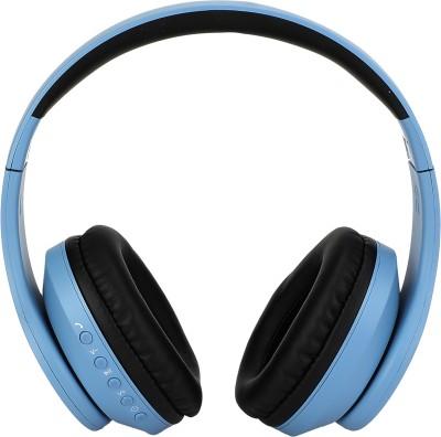 Flipkart SmartBuy Wireless Headphone with High Bass(Blue, Wireless over the head)