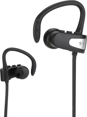 Flipkart SmartBuy Sports Wireless Earphone with Bass - Black(Black, Wireless in the ear)