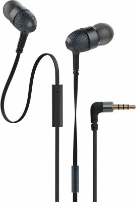 PASH High Bass Best Quality earphone Wired Headset with Mic(Black, In the Ear)