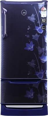 Croma 225 L 2 Star Direct Cool Single Door Refrigerator (CRAR0214, Brushline Silver))