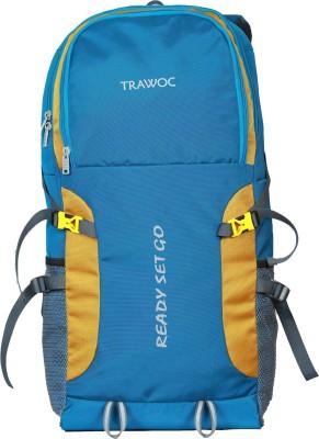 TRAWOC SHK5-blue-Trekking Bag Hiking Backpack Travel Rucksack  - 55 L(Blue)