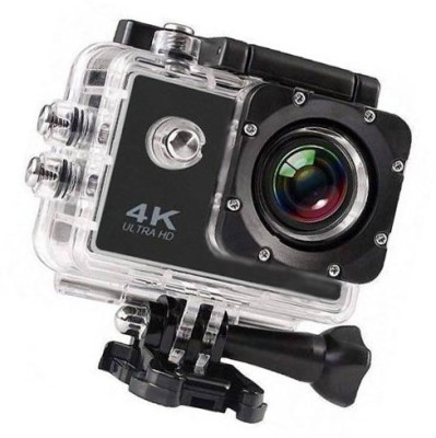 Maupin 4k Camera Camera Ultra HD Waterproof DV Camcorder 12MP 170 Degree Sports and Action Camera Black, 12 MP