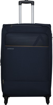 Aristocrat AVALON 4W EXP STROLLY 79 (H) BLUE Expandable  Check-in Luggage - 31 inch(Blue) at flipkart