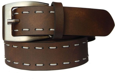 Fashius Men Casual Brown Artificial Leather Belt