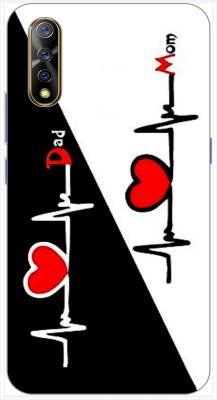 Print maker Back Cover for Vivo S1(Love,Heart,Dil,pyaar,Doll,Baby,forever,miss you,Girls,Hug,Designer,Multicolor, Grip Case, Silicon)
