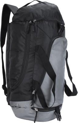 Novex Fusion 60 L Rucksack Cum Travel Duffel Bag Grey Novex Duffel Bags