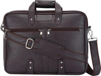 Novex 15.6 inch Laptop Messenger Bag(Brown)