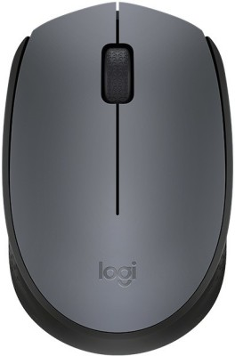 Logitech M 171 Wireless Optical Mouse USB, Black, Grey