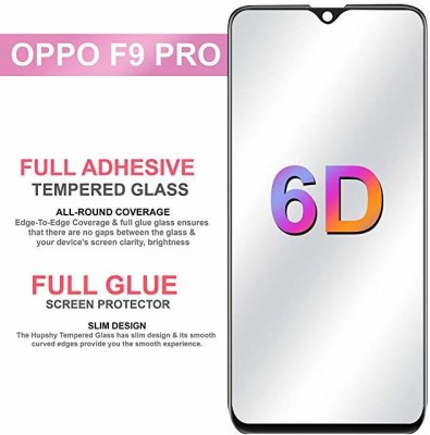 NaturalBuy Edge To Edge Tempered Glass for Oppo F9, OPPO F9 Pro, Realme 2 Pro, Realme U1, Realme 3 Pro(Pack of 1)