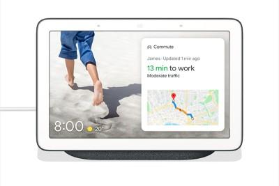 Google Nest Hub with Google Assistant Smart Speaker(Charcoal)