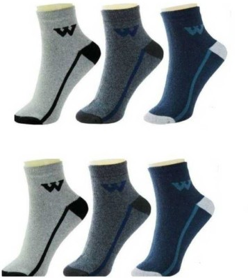 YOUR SHOPPING STORE Men Striped Ankle Length(Pack of 6)