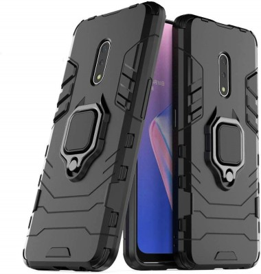 Wellpoint Back Cover for Realme X, Plain, Case, Cover(Black, Grip Case)