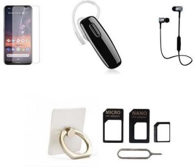 44MOB Screen Protector Accessory Combo for Nokia 3.2(Multicolor)