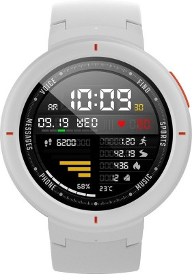 Huami Amazfit Verge Smartwatch(White Strap Regular)