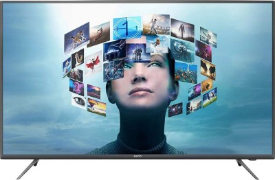 Image of Sanyo 55 inch Ultra HD 4K LED Smart Android TV which is one of the best tv under 40000