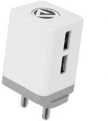 ARU AR-222 5 W 2.4 A Multiport Mobile Charger with Detachable Cable(White, Cable Included)