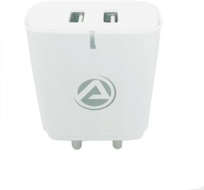 ARU AR-263 5 W 2.4 A Multiport Mobile Charger with Detachable Cable(White, Cable Included)