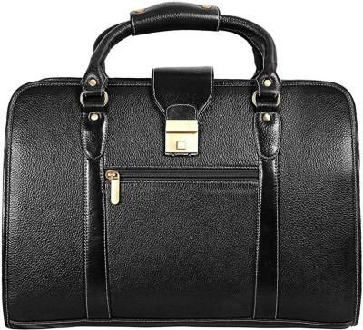 C Comfort Men & Women Black Messenger Bag