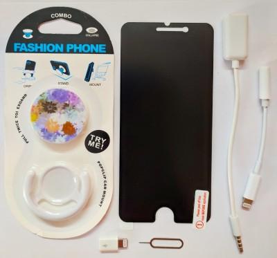 Mnenterprises Screen Guard & Protector Applicator Accessory Combo for I Phone 7 Plus(White)