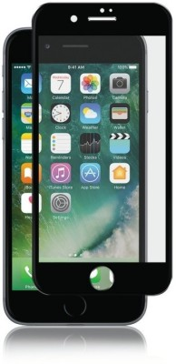 ajd Edge To Edge Tempered Glass for Apple iPhone 7 Plus, Apple iPhone 8 Plus(Pack of 1)