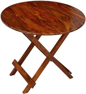 Divine Arts Sheesham Wood Solid Wood Coffee Table(Finish Color - Honey Finish)