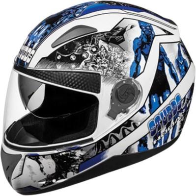 Studds Shifter D7 N1 Motorbike Helmet(White)