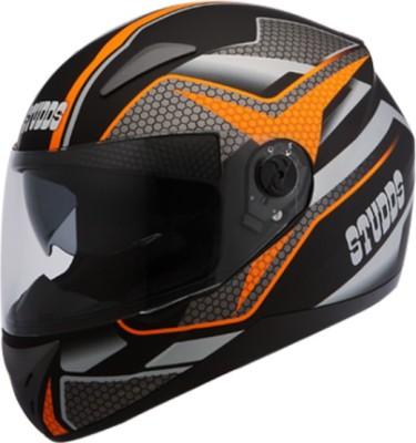 Studds Shifter D8 N10 Motorbike Helmet(Matt Black)
