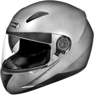 STUDDS SHIFTER FULL FACE - L Motorbike Helmet(Silver Grey)