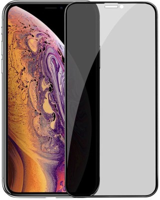 ajd Edge To Edge Tempered Glass for Apple iPhone XS Max(Pack of 1)