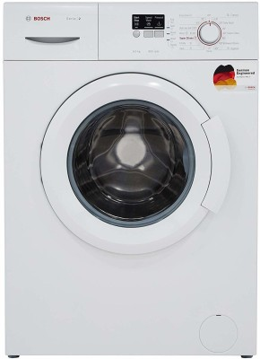 Bosch 6 kg Fully Automatic Front Load with In-built Heater White  (WAB16060IN) – Price & Review
