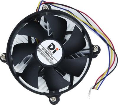 Di International CPU Cooler Fan Compatible With Amd Socket Fm1Fm2Am3+Am3Am2+Am2 Cooler(Black)